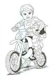 Small Picture Dirt Bike Coloring Pages Coloring pages for Boys 19 Free
