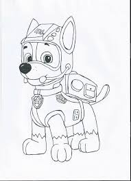 Coloring Pages Paw Patrol Everest Basteln Paw Patrol Coloring