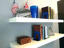 floating shelf white shelves lack small corner ikea wall she