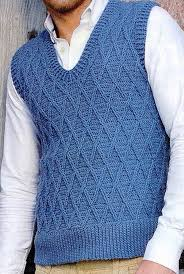 Mens Vest Pattern Free Cool Design Inspiration