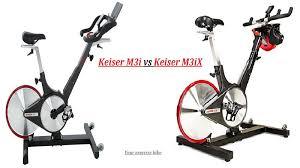 keiser m3 vs m3 plu3i vs m3ix