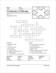 Microsoft Word Vocabulary Vocabulary Worksheet Maker For Teachers Schoolhouse Technologies