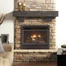 popular gas ventless fireplace insert household prepare intended for decor 13
