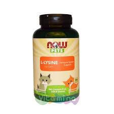 Now Foods Pets <b>Лизин для котов</b> и кошек купить в интернет ...