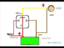 horn relay wiring diagram wiring daigram horn wiring diagram 70 f100 pictures wiring diagram horn relay horn relay simple youtube