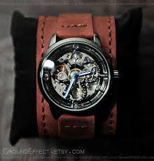mens automatic watch skeleton watch valentines gift groom mens automatic watch skeleton watch valentines gift groom gift bestman gift