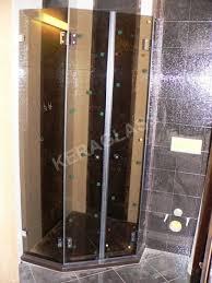 berlin shower enclosure with two doors bronze