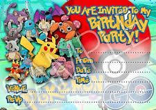Pokémon Cards Stationery For Invitations Ebay