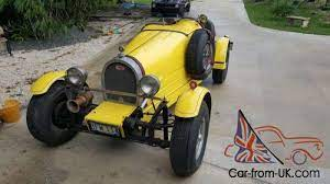 Also available a not registered pur. 1927 Replica Kit Makes Bugatti Type 35