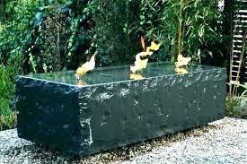 modern outdoor wall fountain contemporary water fountains inside ideas 6 garden id