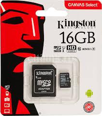 Купить <b>Карта памяти</b> microSDHC UHS-I U1 KINGSTON Canvas ...