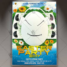 Easter Party Premium Flyer Psd Template