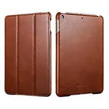<b>New</b> iPad Mini 5 <b>2019 Leather</b> Case, Icarer Vintage <b>Genuine</b> ...