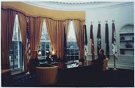 where is the oval office. President Richard M. Nixon And Representative Gerald R. Ford Meet In The Oval Office Where Is