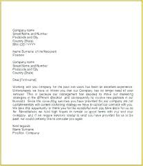 Formal Business Letter Template Gallery Letters Format
