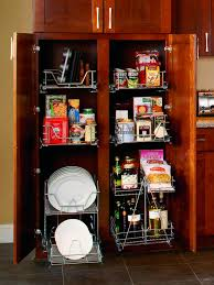 Kitchen Pantry Shelving Pullout Pantry Shelving Solutions Hgtv