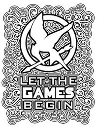 The Hunger Games Coloring Pages Book T Shirt