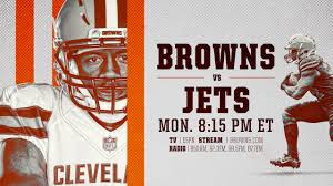 Browns at Jets: How to watch, listen, stream, announcers and more
