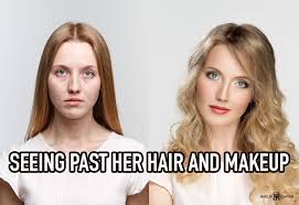 natural beauty vs makeup