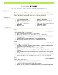 fast food restaurant manager resume restaurant resume sample fast food server resume example restaurant