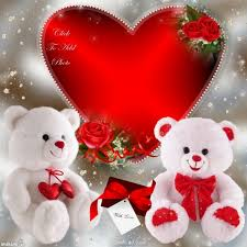 white teddy bears with hearts and roses. Beautiful White SOME RED ROSES A HUGE HEART AND TWO WHITE TEDDY BEARS For White Teddy Bears With Hearts And Roses D