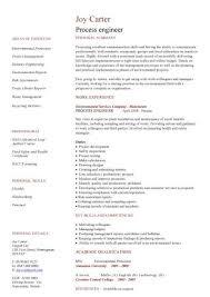 Sample Resume For Process Engineer Process Engineer Cv Sample Interview Winning Resume Job