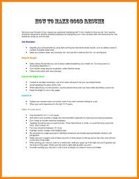 6 Writing A Good Resume Good Resume Tips Resume Samples