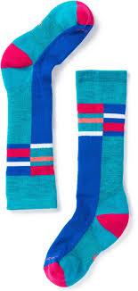 Smartwool Kids Socks Size Chart Smartwool Kids Wintersport Over The Calf Socks Kids Unisex