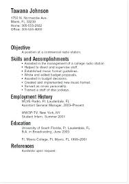 Resume Template For College Inspiration Good Examples Of Resumes For College Students Inspiring Ideas Sample