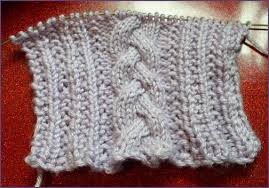 Cable Knit Scarf Pattern Impressive Trish Knits Fancy Cabled Braided Scarf
