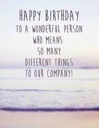 happy birthday wishes to employee