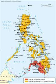 philippines travel advice gov uk