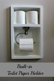 masks bathroom accessories set personalized potty: this is such a great idea built in toilet paper holder