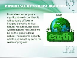 conservation of natural resources  progress 5 management of natural