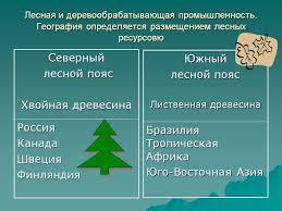 Лесная и деревообрабатывающая промышленность Презентация  Лесная и деревообрабатывающая промышленность