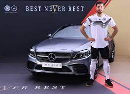 One night's hotel stay is provided in the delivery program. The Best Never Rest Mercedes Benz Partners With German Football Team Emercedesbenz