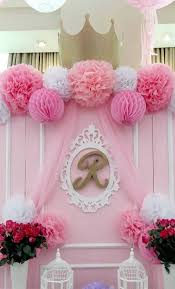 Backdrop from a Pink Princess Baptism Party via Kara's Party Ideas | The  Place for All