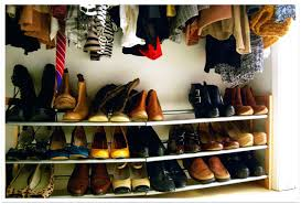 inspiring small closet shoe storage diy ideas for spaces rack small closet shoe storage pic