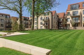 we ve enclosed the historic central garden which contains some of the best trees with five new apartment blocks which are designed to look like