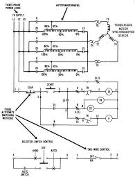 operational power control systems Autotransformer Motor Starter Wiring Diagram autotransformer starter circuit used with a three phase motor autotransformer motor starter circuit diagram