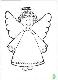 angel coloring page  christmas angel colouring page  dinokids    angel coloring page  christmas angel colouring page  dinokids