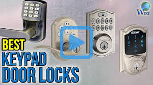 Top 10 Keypad Door Locks of 2017 | Video Review