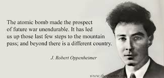 Oppenheimer Quotes Fascinating J Robert Oppenheimer Quotes Quotes