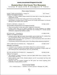 Best Resume Software Software Tester Resume Sample 92