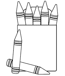 Small Picture Lovely Crayon Coloring Pages 51 With Additional Coloring for Kids