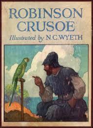 Resultado de imagen de robinson crusoe imagenes libro