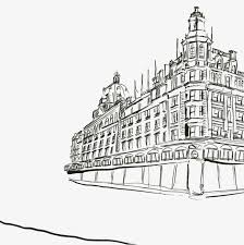 architectural drawings of buildings. Building Hand Drawing Architectural Drawings Draw Png And Psd Of Buildings