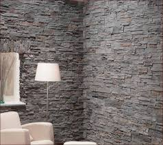 natural stone wall tiles gray color contemporary living room accent walls