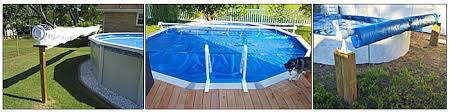 above ground pool solar covers. Attaching A Solar Cover To Reel: You Can Do This While In The Pool, With Folded On Itself, So Reach Tube, Or Spread Across Above Ground Pool Covers X