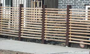 horizontal wood fence with metal posts. Interesting Horizontal Horizontal Fence With Metal Posts Wood Steel Picture And Vs  For Horizontal Wood Fence With Metal Posts